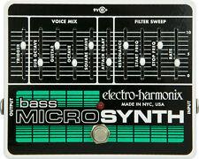 Electro-harmonix basso Micro Sintetizzatore Pedale