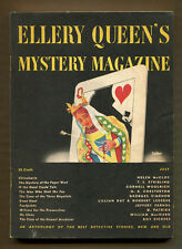 ELLERY QUEEN'S MYSTERY MAGAZINE - July 1946 - Woolrich, Vickers, McCloy, etc