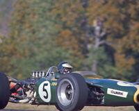1967 Driver JIM CLARK Glossy 8x10 Photo Formula 1 US Grand Prix Poster Print