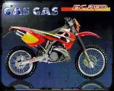 Gas Gas Ec 250 98 A4 Metal Sign Motorbike Vintage Aged