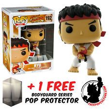 FUNKO POP STREET FIGHTER RYU SPECIAL ATTACK EXCLUSIVE + FREE POP PROTECTOR