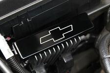 2010-2014 Chevrolet Camaro Heat Sink Cover Bowtie Logo Black