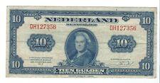 Netherlands - 1943, 10 Gulden