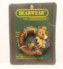 Boyds Bears BearWear Life Is A Daring Adventure Pin # 26106