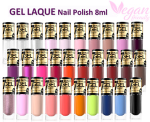 Eveline GEL LAQUE Nail Polish Shiny Manicure Effect Without Using a UV/LED 8ml