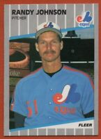 1989 Fleer #381 Randy Johnson ROOKIE RC Pack Fresh MINT Montreal Expos FREE S/H