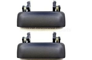 fits Ford Ranger Outside Exterior Outer Door Handle Left Right Metal Legs Pair