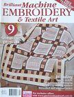 Machine Embroidery & Textile Art Magazine Vol 21 No 7 - 20% Bulk Magazine Discou