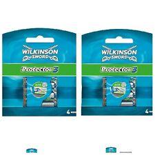 Wilkinson Sword Protector 3 Klingen 2 X 4er Pack 8 Stück/ Original