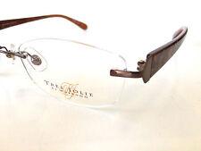 Tres Jolie  Eyeglass Frame TJ501AL Marchon Eyeglasses Frames Airlock Rimless
