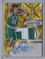 R.J. Hunter 2015-16 Panini Spectra Gold Rookie Patch Autograph /10