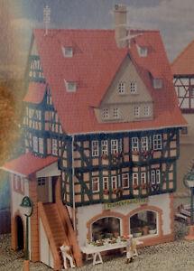 Faller H0  BLUMENGESCHÄFT / FACHWERKHAUS (934) Bausatz, Beutelvp., NEU