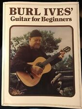 BURL IVES GUITAR FOR BEGINNERS - COLLECTIBLE
