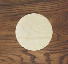 Any Size Wood Circle Laser Cut Wood, Multiple Thickness,