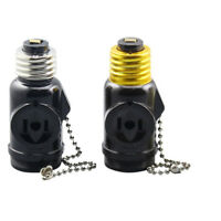 E27 To E27 Light Socket Adaptor Base Converter Extender Lamp Bulb Holder