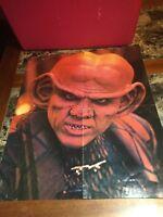 "Star Trek The Next Generation Fold Out Poster Quark 18"" X 16"""
