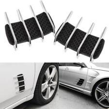 Universal Car Auto Flow Vent Fender Intake Grille Air Net Door Hood Side Sticker