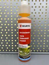 Würth Scheibenreiniger 250ml Scheiben reiniger Scheibenklar Konzentrat 1:100