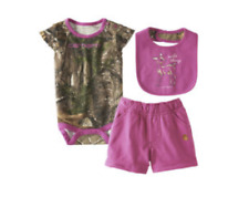Carhartt Infant Girls' Wild Thing 3-piece Set NWT Free Shipping 24M