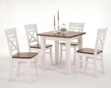 Quadratische Tisch- & Stuhl-Sets aus Massivholz