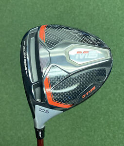 NICE!! TAYLORMADE M6 D-TYPE DRIVER 10.5* EVENFLOW RED REGULAR LEFT HAND $279!!!