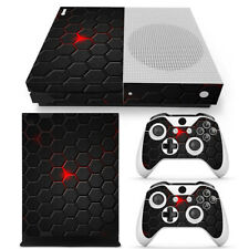 Xbox One S Skin Console & 2 Controllers Hot Grid Game Decal Vinyl Wrap