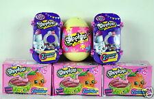 New Shopkins Easter Egg, Season 4 & Fashion Spree Blind Basket Lot - 12 shopkins