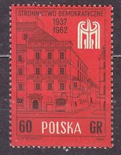 POLAND 1962 **MNH SC#1096 Polish Democratic Party, 25th