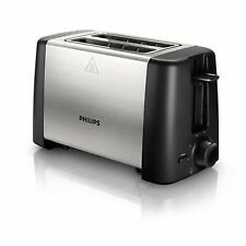 Toaster Philips HD4825 Black, Stainless Steel