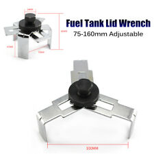 75-160mm Adjustable Fuel Pump Wrench 3 Jaws Tank Cover Oil Pump Cap Removal Tool