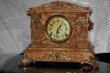 "SETH THOMAS Mantel Antique Clock Made c/1897 Model ""DING-DONG"" -SONORA 2 BELLS"