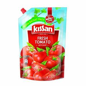 Kissan Fresh Tomato Ketchup, with 100% Real Tomatoes, 950 g X 2