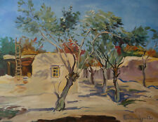 Ancien tableau paysage Turquie Orientale signé  impressionisme