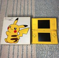 Nintendo DS Lite Pikachu Console Limited Pokemon Center Collector Item Tokyo JPN