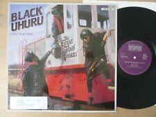 "Black Uhuru – The Great Train Robbery   12"" Maxi  Vinyl  mint-"