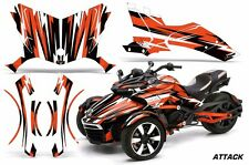 AMR Racing CanAm Spyder F3-S Roadster Graphic Kit Street Bike Decal Wrap ATTK O