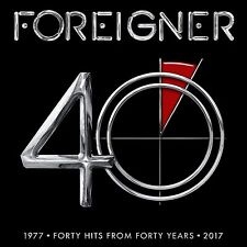 FOREIGNER 40: FORTY HITS FROM FORTY YEARS 2-CD SET (New Release 2017)