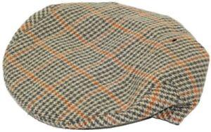 Tweed Country Wool Flat Cap Peaky Blinders Gatsby Newsboy Driving Hawkins Hat
