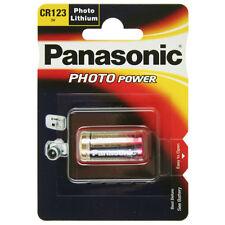 1x CR123A Foto-Batterie Lithium Photobatterie von PANASONIC im Blister