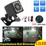 12LED HD 170° Rückfahrkamera Einparkhilfe Kamera Nachtsicht Auto KFZ Wasserdicht