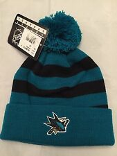 San Jose Sharks NEW Youth Knit Winter Hat . NHL Hockey OSFM NWT Gift Warm Cap
