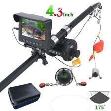 Fish Finder 25M 4.3 inch Monitor 1000TVL Underwater Fishing Camera Fishing Rod