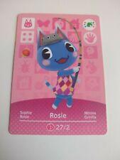 Rosie Animal Crossing Amiibo Card Nintendo Switch 3DS Wii U