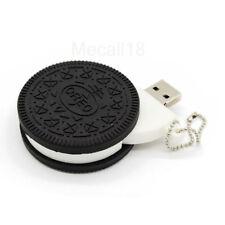 2TB 128GB USB 2.0 Flash Drive Memory Stick Pen U Disk Thumb Laptop Cake Biscuits