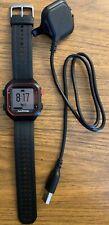 Garmin Forerunner 25 GPS Running Watch w/ Charger - Black/Red