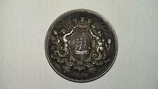 Superbe médaille de la Caisse d'Epargne de Dieppe. Argent.