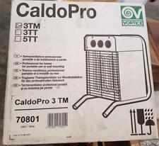 VORTICE 70801 CALDOPRO 3TM termoventilatore professionale portatile e da parete