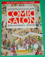 COMIC-SALON ERLANGEN 2008 - STICKER-ALBUM / eingekl. PANINI-STICKER - 5 fehlen