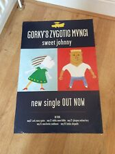 1 Gorky's Zygotic Mynci 'Sweet Johnny' Original Promo Poster 1998 RARE
