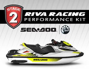 Seadoo Rxt-X 300 GTX Ltd 300 Stage 2 Kit 81 + Mph Riva Solas SX-CD-14/19 2016-17
